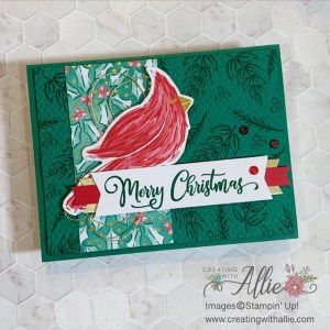 Easy Christmas Cards using the Tag Buffet Kit