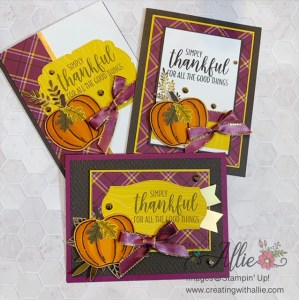 Three Easy Fall Cards to make!