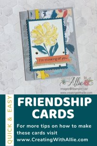 Card ideas with the brand new Fine Art Floral Suite