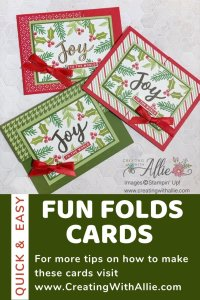 Easy Fun Folds for Christmas Cards