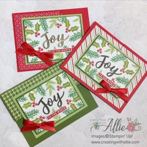Easy Fun Fold Christmas Cards to make.