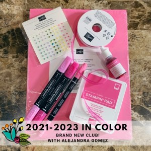 Sign up for the Brand new 2021-2023 In Color club