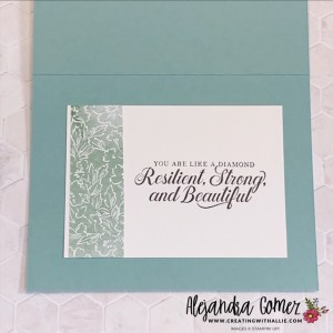 decorating the inside of your cards