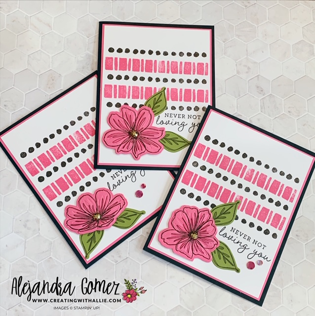 Learn how to make an easy card using the Art in Bloom bundle from Stampin' Up!
