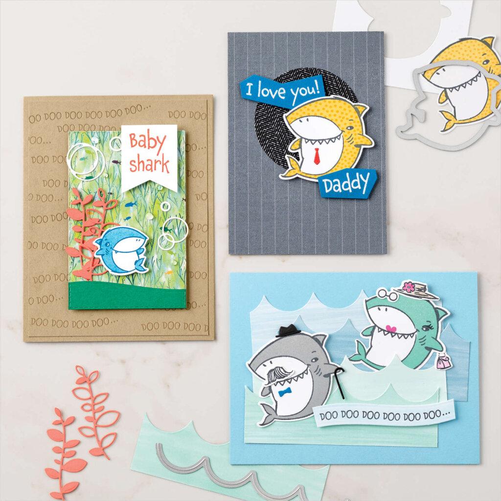 Shark Frenzy Bundle Card ideas