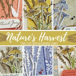 Nature's Harvest Card Class