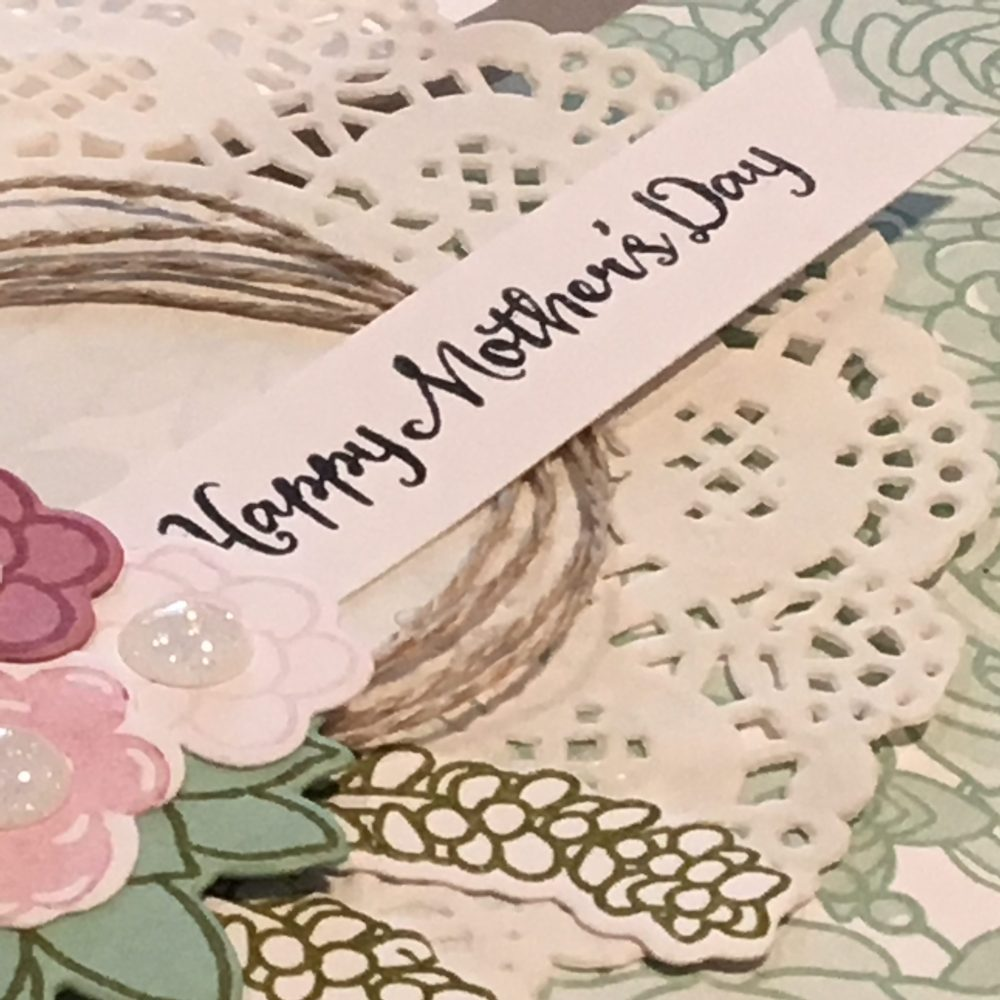 Mother's Day Card Closeup