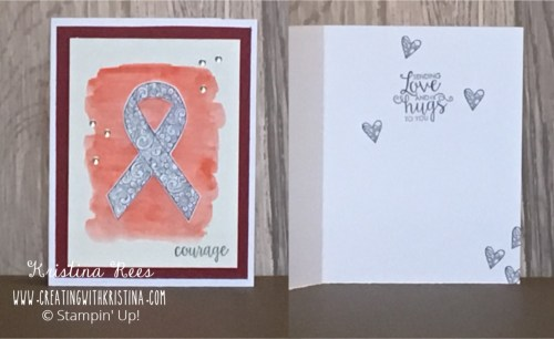 Ribbon of Courage Lung Cancer