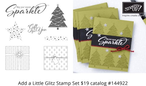 Add a Little Glitz Stamp Set