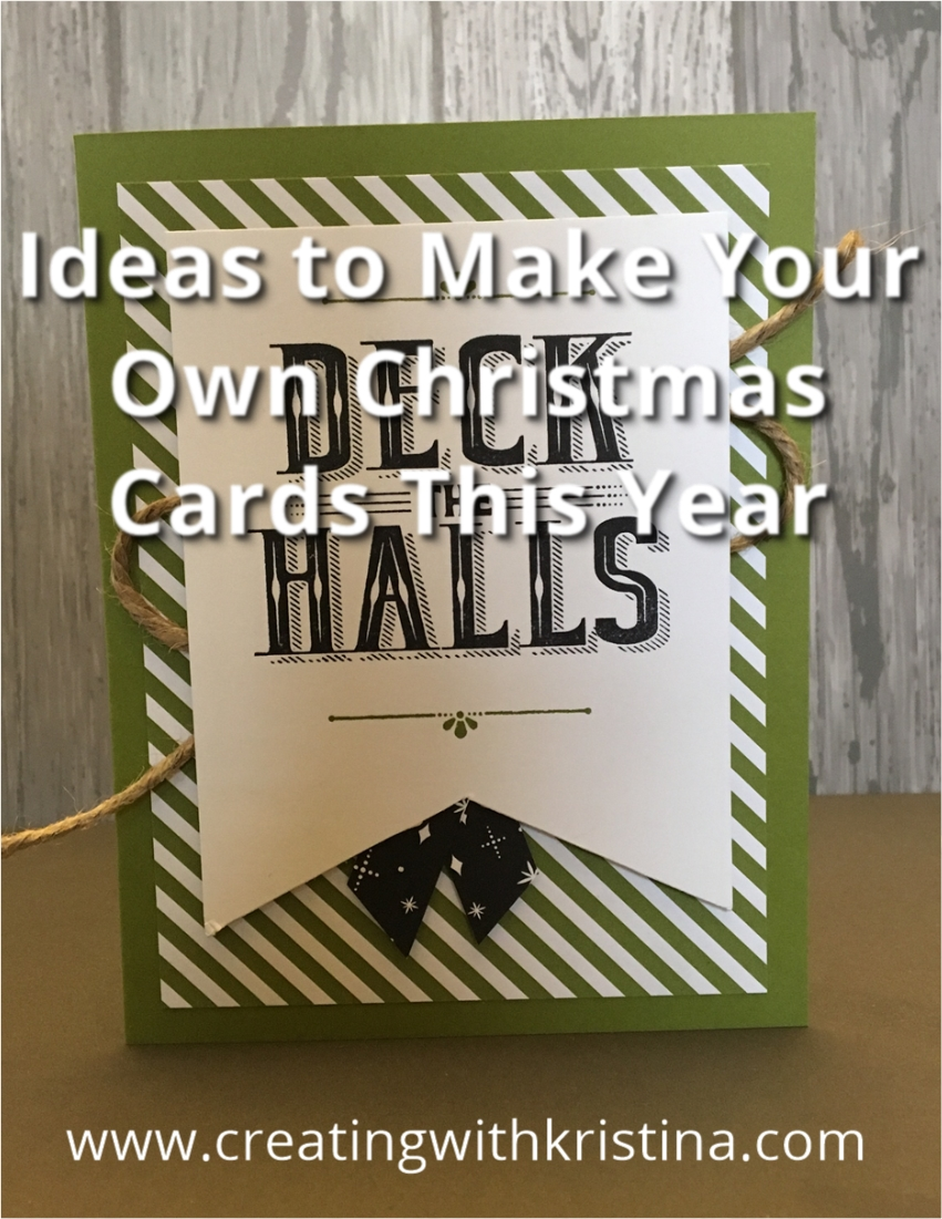Make Your Own Christmas Cards Ideas Part - 18: Ideas To Make Your Own Christmas Cards This Year