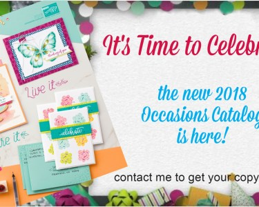 2018 Occasions Catalog is Here