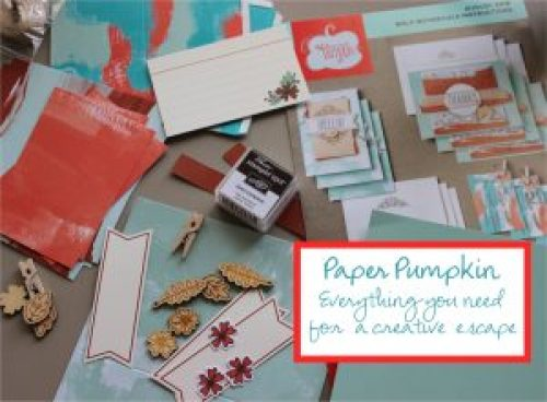 Paper Pumpkin everything you need for a creative escape