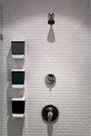 countertop wall tile shower surround