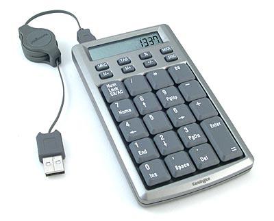 Un pavé numérique USB