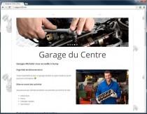 Page Web affichée dans Chrome