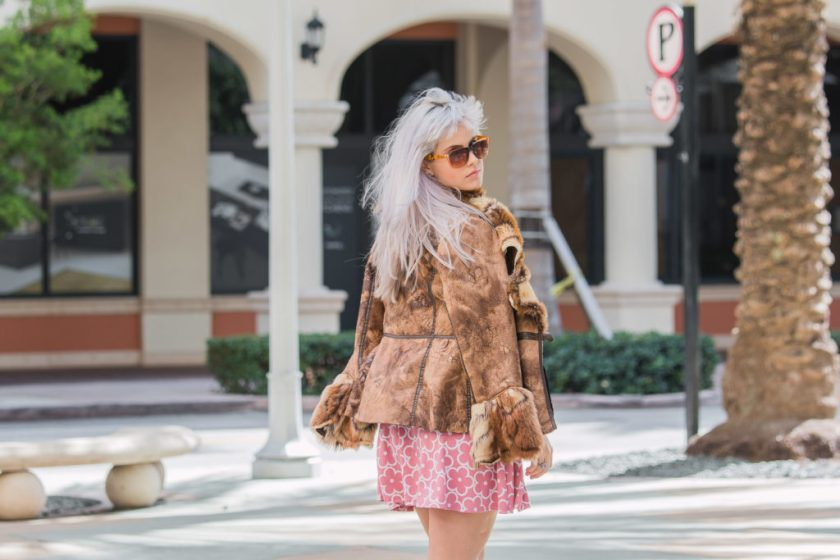 Faux Fur-cuffed Jacket | Creation Despite