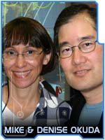 Mike and Denise Okuda