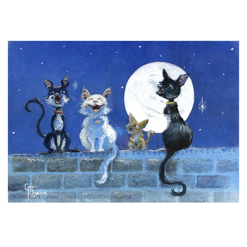 Cat-a-Walling