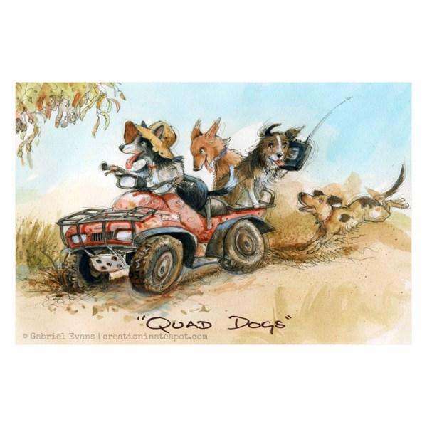Quad Dog