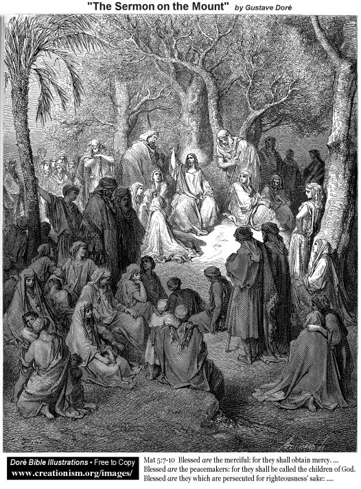 Dore's Sermon on the Mount