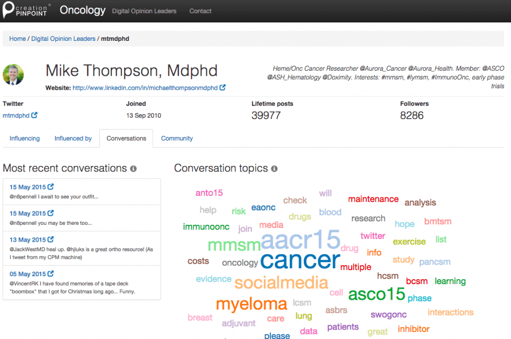 creation_pinpoint_oncology_conversations_topics