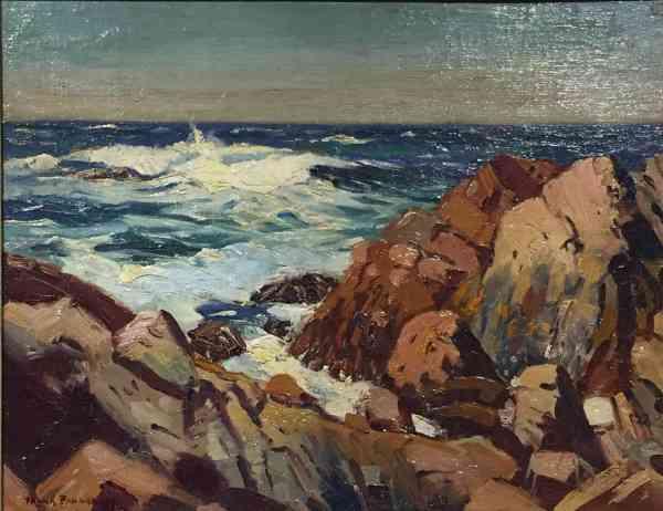 Frank Panabaker East Coast Shoreline 11 14 Creations Art