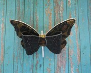 butterfly hair bow - 4 inches