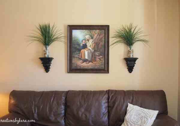 Hanging Wood Trim In Living Room