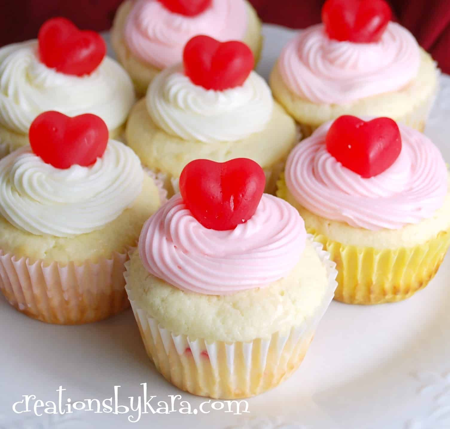 Cupcakes Cute Wallpaper Cherry Cheesecake Cupcakes For Valentine S Day