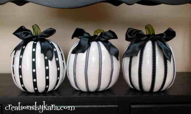 Corn Husk Decorated Pumpkins Acultivatednest Ribbon