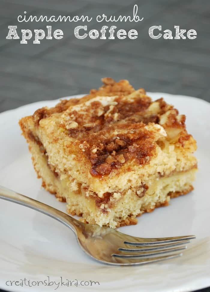 Cinnamon Crumb Apple Coffee Cake