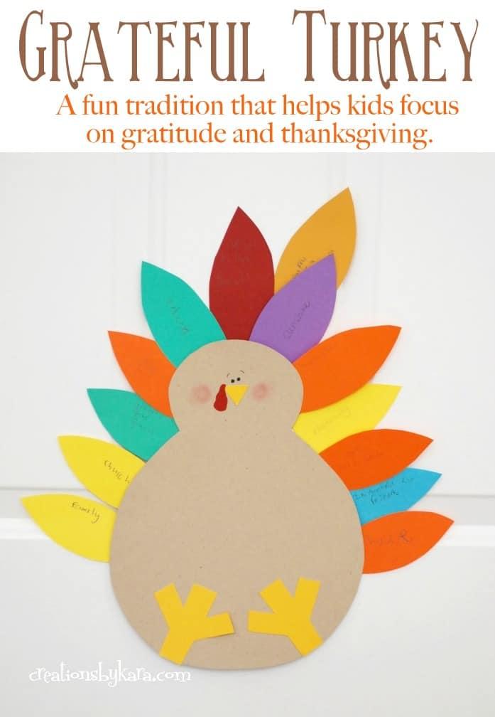 Flashback Friday Thanksgiving Grateful Turkey Creations