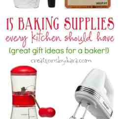 Best Kitchen Ideas Cheap Baking Supplies For Every - Creations By Kara