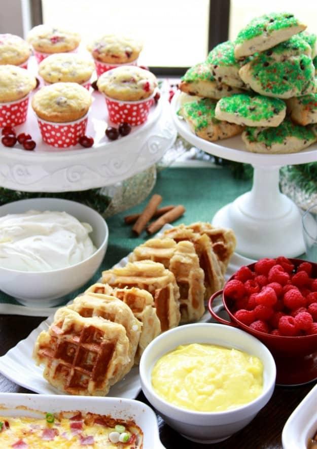 Christmas Brunch Recipes Creations By Kara