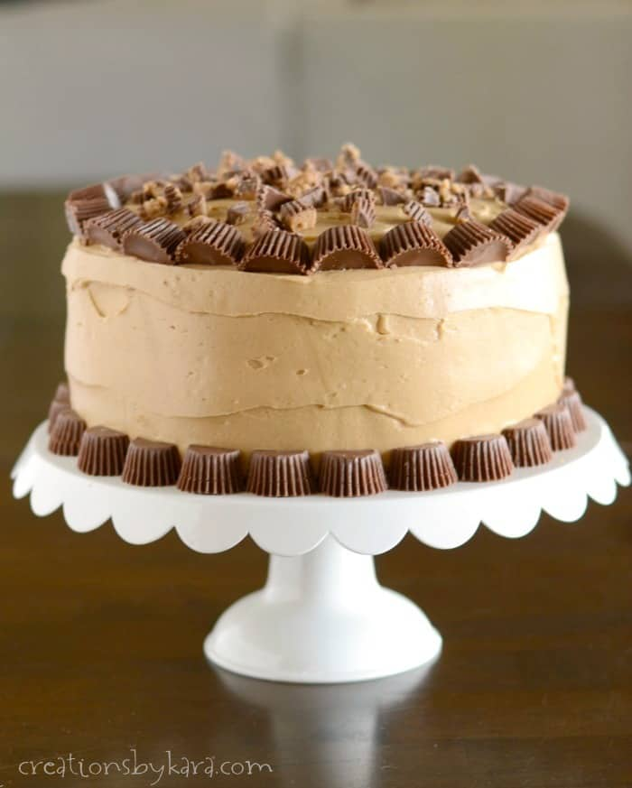 Reese S Peanut Butter Chocolate Cake