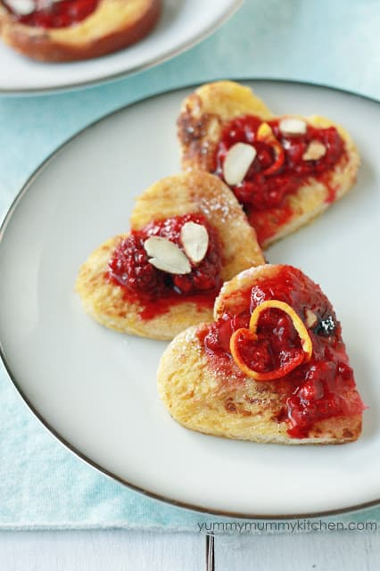 Heart Shaped Foods for Valentines Day  Creations by Kara