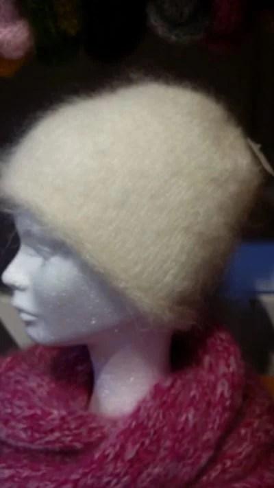Bonnet Pur mohair de chevreau
