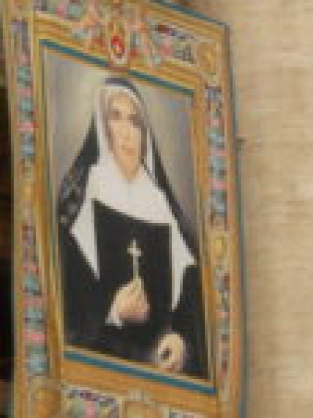 Saint mother Theodore Guerin Banner