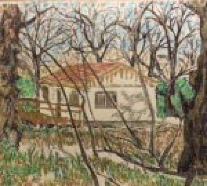 straw bale hermitage