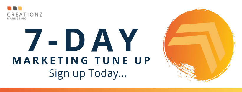 7-Day Marketing Tune-UP Challenge, Creationz Marketing, Nottingham, East Midlands
