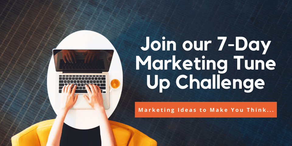 January 2021 - 7-Day Marketing Tune Up Challenge, Creationz Marketing, Nottingham