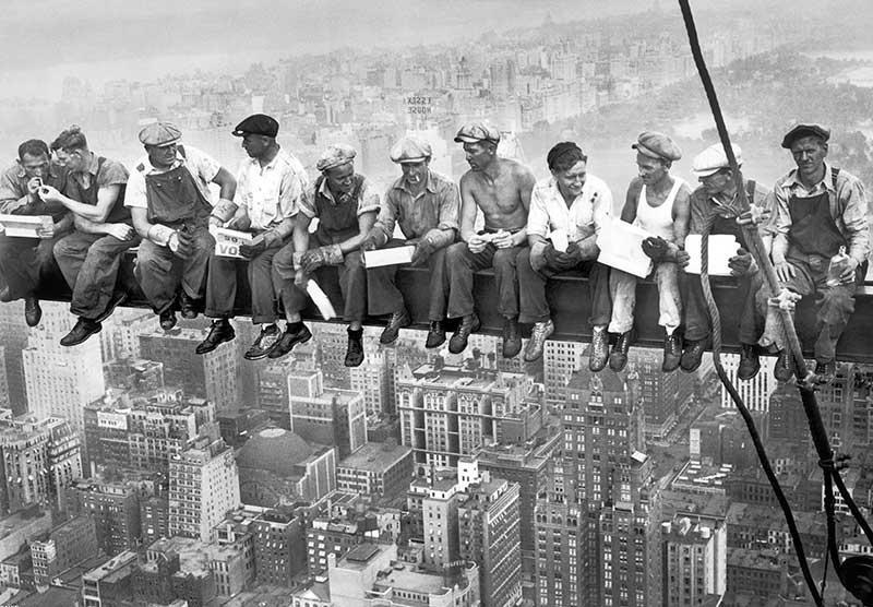 L'effetto finale, sia quello estetico che emozionale, ti sorprenderà! Carta Da Parati New York 1932 Personalizzazione