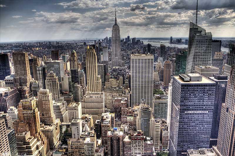 Il marrone rimane sempre sullo sfondo, emana stabilità rustici sia a moderni arredi dalle. Carta Da Parati New York Vintage Personalizzazione
