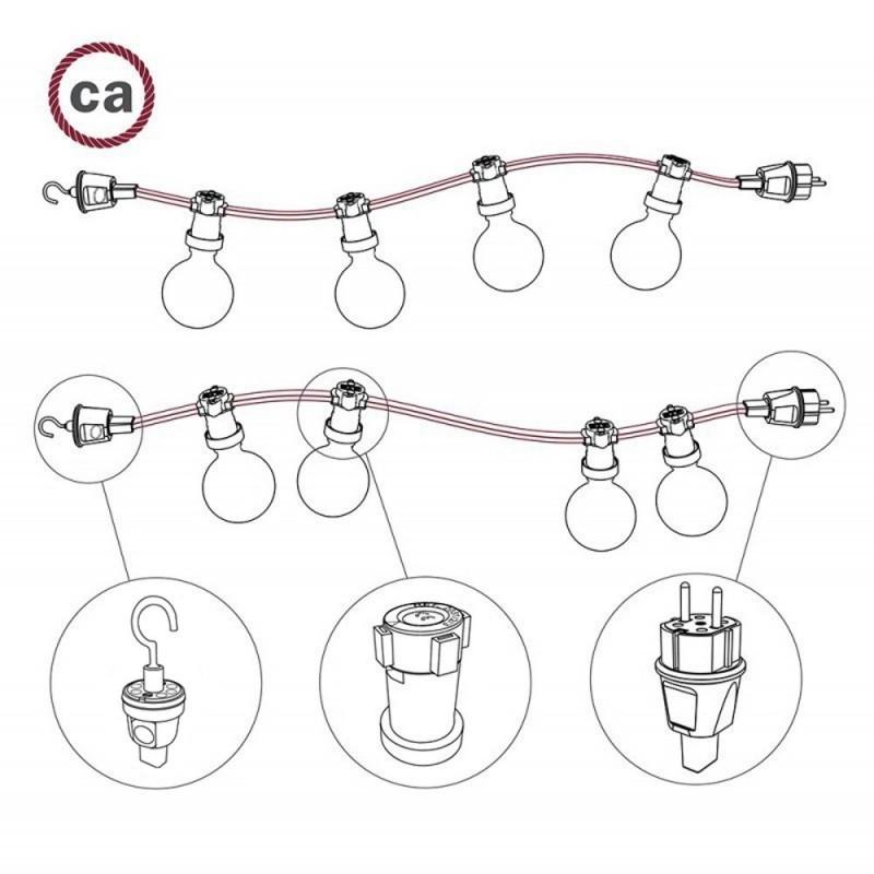 Hook for String Lights