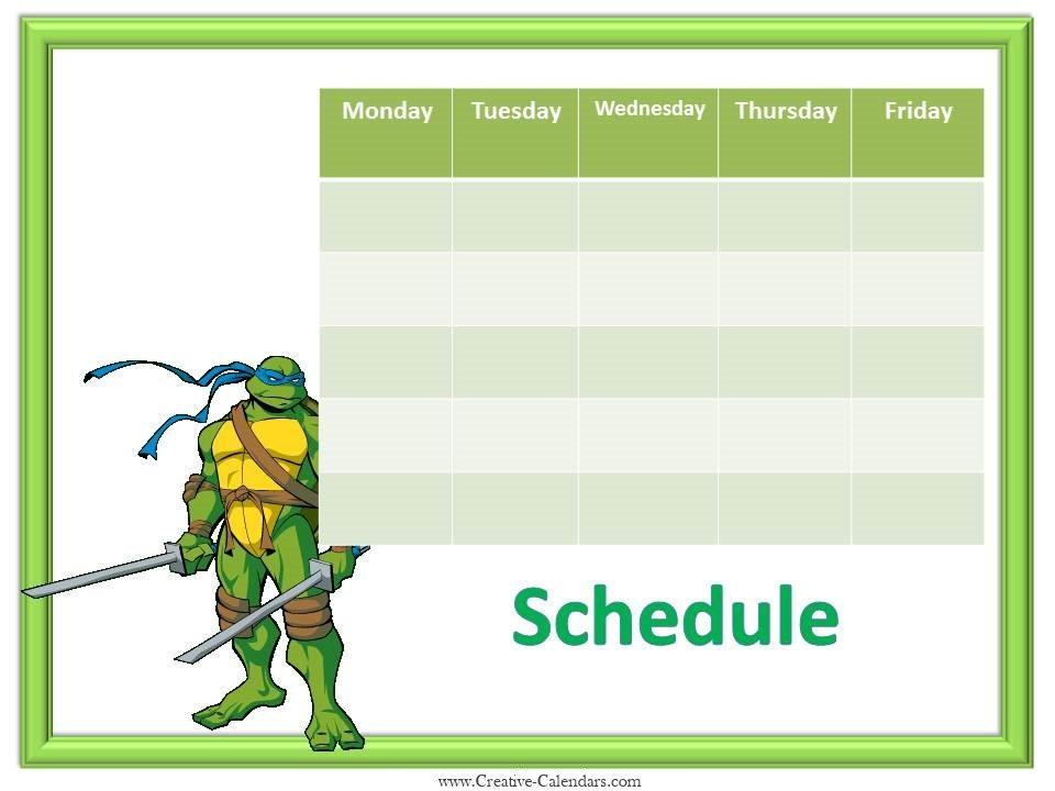 free printable calendars templates