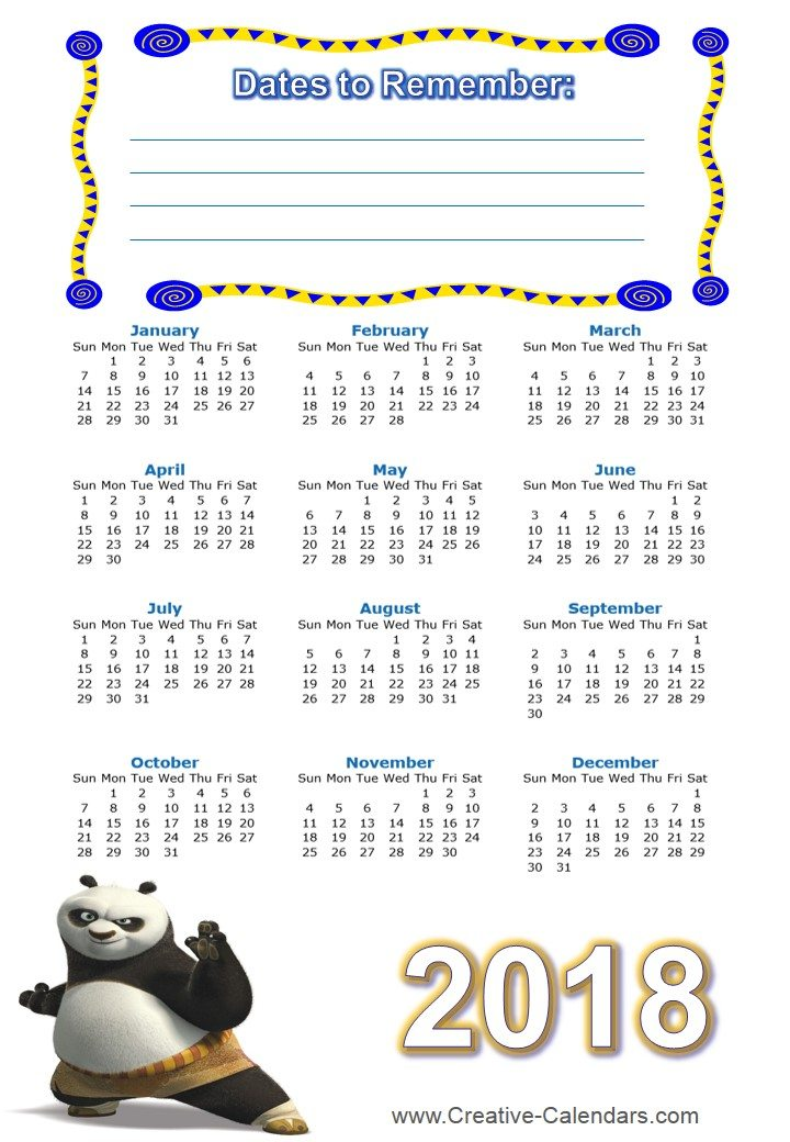 Mouse Wallpaper Cute Free Printable Kung Fu Calendars
