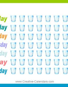 Drink more water chart also tracking charts rh creative calendars