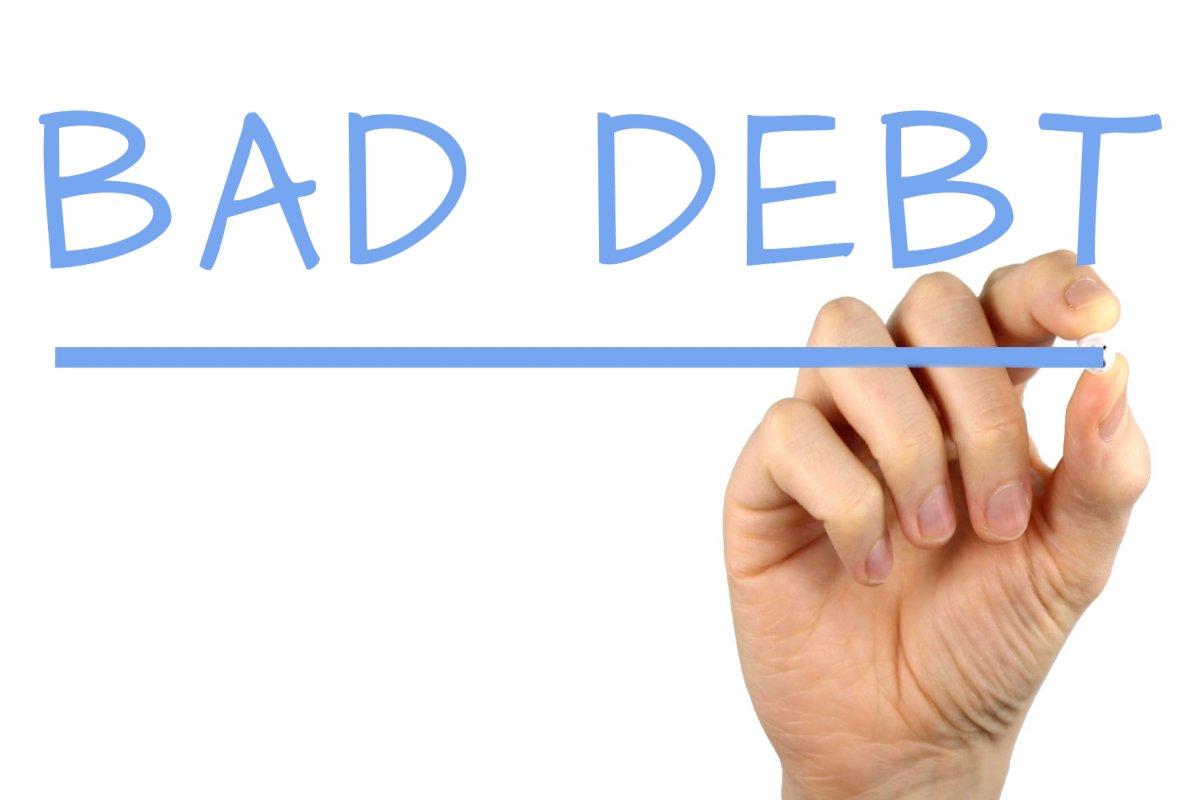 Kết quả hình ảnh cho BAD DEBT