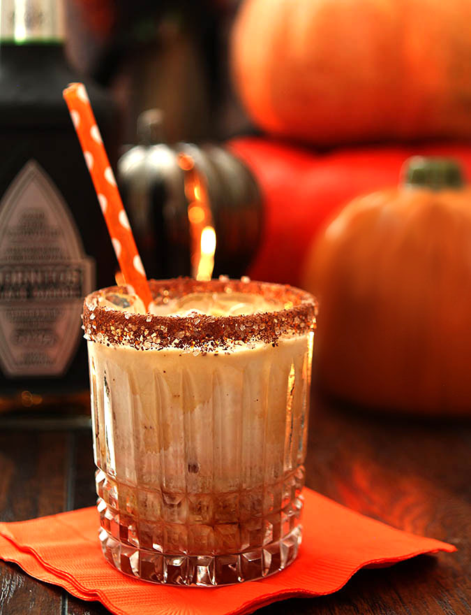 The Black Goblin - Tequila, Coffee Liqueur and Cream