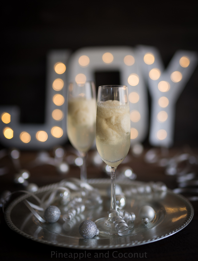 Pear Sorbet Champagne Cocktail-197